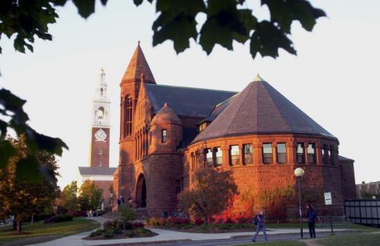 Billings Library at the University of Vermont in Burlington.