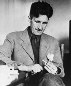 a glimpse into the thoughts of george orwell the boston globe