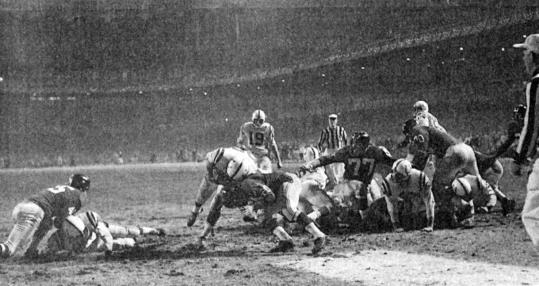 Alan Ameche's touchdown won the 1958 NFL championship game for the Baltimore Colts.