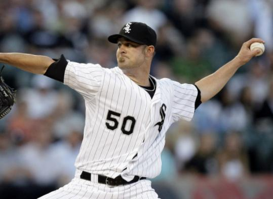 John Danks fashioned an impressive pitching line (7 innings, 2 hits, 9 strikeouts), but his night ended in disappointment.
