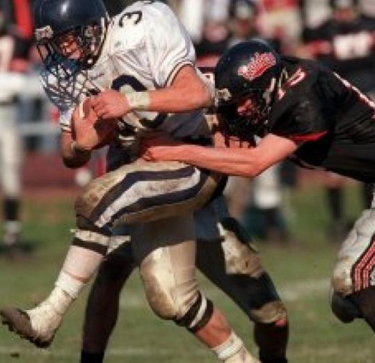 The football rivalry between Needham and Wellesley high schools is the longest running in the United States.