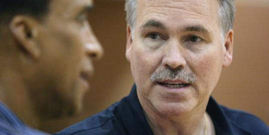 Hiring Mike D'Antoni (right) as head coach was a step in the right direction by Knicks basketball boss Donnie Walsh.