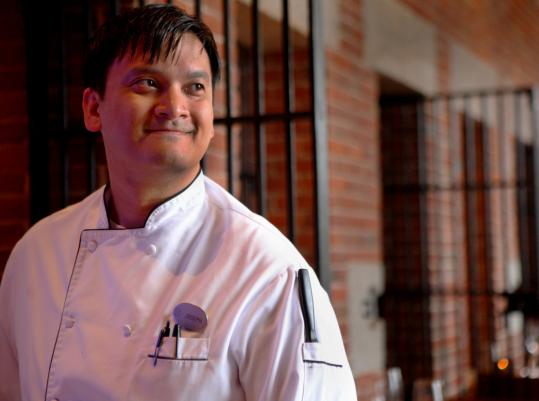 Chef Joseph Margate remembers corn ice cream from his childhood in the Philippines.