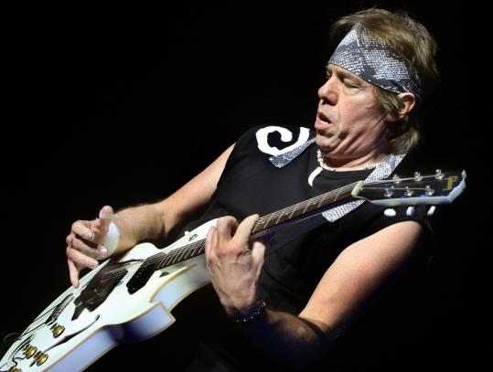 George Thorogood (above) played a 90-minute set after legendary Buddy Guy performed on Sunday night.