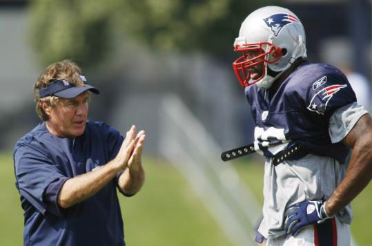 Rookie linebacker Shawn Crable hopes to earn consistent applause from coach Bill Belichick.