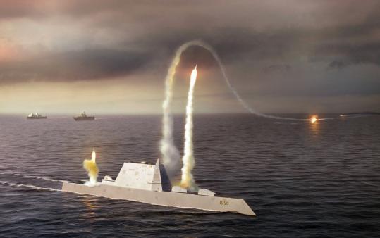 The Navy has told Congress that the multibillion Zumwalt-class DDG 1000 destroyer can't shoot down ballistic missiles.
