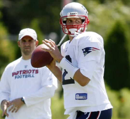 Tom Brady's arm was in good shape - and so, apparently, was his right foot.