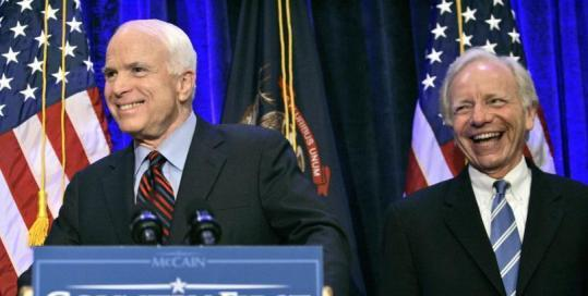 McCain backer Joseph Lieberman will address the GOP convention.