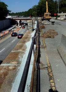 In June, work had closed the Route 16 ramp at Route 9, one complication among years of challenges for Wellesley drivers.