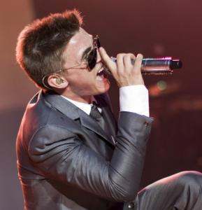 Jesse McCartney's hit songs were met with screams of adulation in Lowell on Wednesday night.