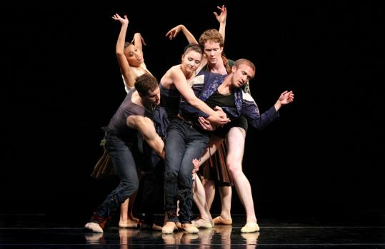 ''Leatherwing Bat'' is one of two world premieres presented by the Trey McIntyre Project at Jacob's Pillow.