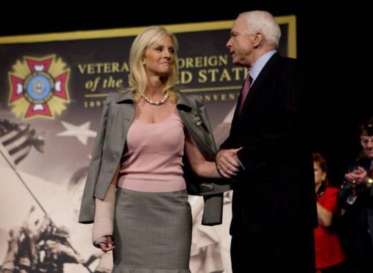 John McCain campaigned in Orlando, Fla., this week with his wife, Cindy. The senator's finances are difficult to scrutinize.