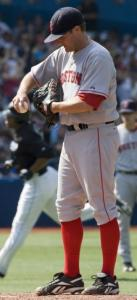 Reliever Chris Smith couldn't stop the bleeding in yesterday's lopsided loss at Toronto.