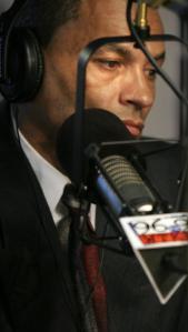 Former firefighter Albert Arroyo was interviewed on WTKK-FM yesterday.