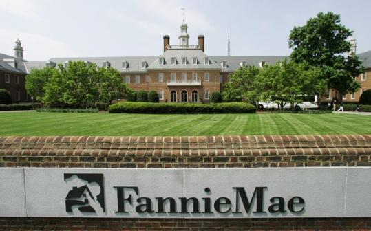Shares of Fannie Mae climbed 19 cents, or 3.8 percent, to $5.19. But some analysts expect yesterday's rebound to be temporary.