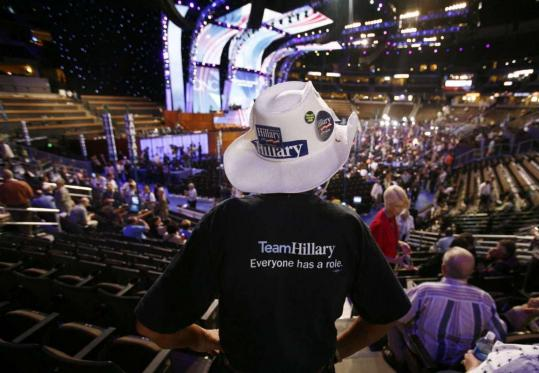 Some loyal to Hillary Clinton have been disappointed over the diminished role of her delegates at the convention.