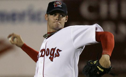 A Sea Dog, not a Sox, Clay Buchholz gave up three earned runs but had no walks in 7 innings.