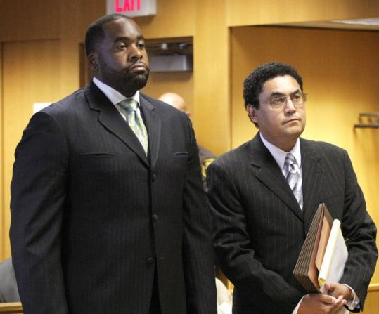 Detroit Mayor Kwame Kilpatrick stood next to his attorney in Wayne County Circuit Court last week during his arraignment on charges that he shoved a sheriff's deputy.