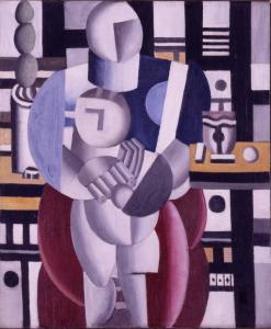 The insurance payout for ''Woman and Child'' wasn't revealed, but Leger's work fetches an average $2.8 million.
