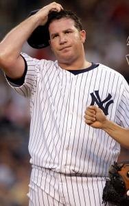 The Yankees' hopes rested on the broad shoulders of Sidney Ponson, but that weight was too much to handle last night.