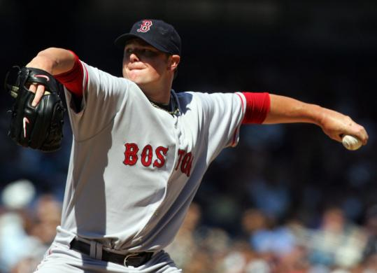 After a rough outing against the Blue Jays, Jon Lester (6 1/3 IP, 1 run) was again on target yesterday against the Yankees.