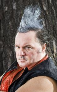 Chris ''The Skunk'' Antal, a professional wrestler, has his dander up over his cable access program.