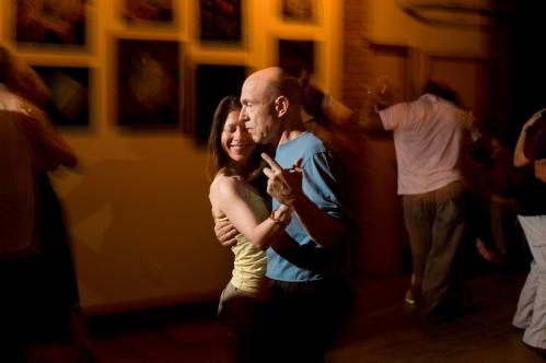 The regulars: Joseph Groden of Boston and Wendy Coleman of Boston shared a dance at the milonga. Groden and Coleman used to dance five nights a week, 'but we've cut it down to four now,' Groden said. More info on the Lily Pad SUBMIT Your nightlife photos! TALK What scene should we visit next?