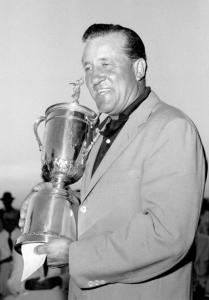 Associated PressGolfer Tommy Bolt won the US Open Championship at Southern Hills Country Club in Tulsa, Okla., in 1958.