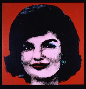 ''Red Jackie'' by Andy Warhol is part of ''Warhol: Pop Politics,'' opening at the Currier Museum of Art in Manchester, N.H., on Sept. 27.