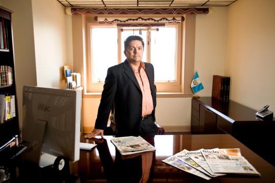 Victor Manuel Gonzalez Lemus, owner of the area Spanish-language publication Siglo21.