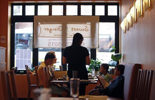 Sweet Ginger has brought Thai food to eager diners in Somerville's Union Square.