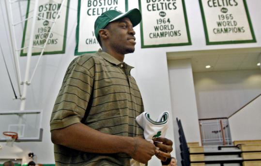 Second-round draft pick Bill Walker, a 20-year-old forward from Kansas State, is going to look good in a Celtics jersey, according to Danny Ainge.