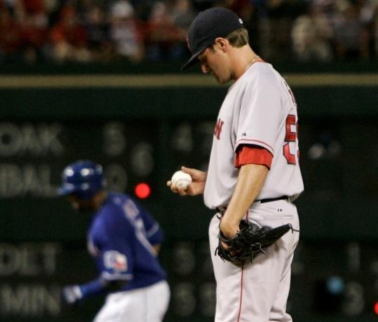Reliever Chris Smith didn't provide any relief as Nelson Cruz smashed the first of his two home runs off the Sox' pen.
