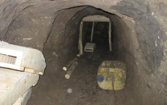 A tunnel dug from a bakery across from Iraqi provincial government headquarters was found last week. Casualties from the planned blast would have been catastrophic, the US sai