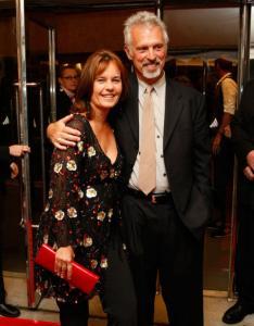 Caroline Link and Scott Campbell at the Toronto film festival.