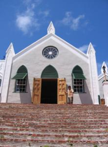 St. Peter's Church in St. George's, Bermuda.