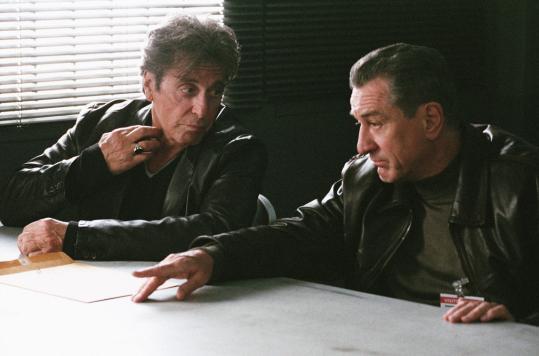 Al Pacino and Robert De Niro play veteran New York City detectives in ''Righteous Kill.''