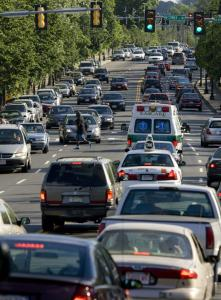 Massachusetts commuters drive about 12,000 miles a year, which is about 3,000 miles less than the national average.
