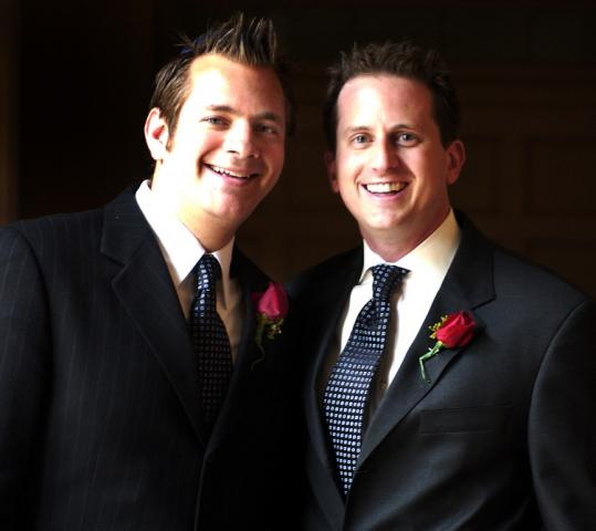 GLOBE FILE PHOTOJoshua Glazer (left) and Eric Hyett married in May 2004 on the first day same-sex couples could wed in Massachusetts.