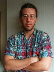 David Foster Wallace's books included ''Infinite Jest.''