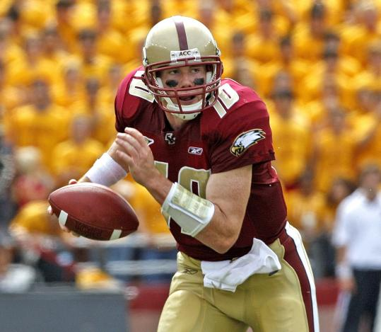 Boston College quarterback Chris Crane said he wants to ''start pushing the ball down the field'' against Central Florida.