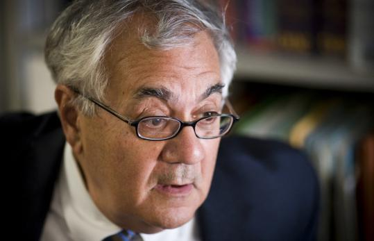 Barney Frank, chairman of the House Financial Services Committee, says he was not asked about the $85 billion bailout of American International Group: He was told.