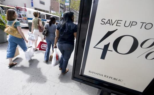 The US financial meltdown comes just as the retail industry prepares for the crucial holiday shopping season.