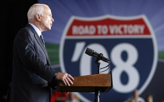 John McCain said yesterday at a rally in Cedar Rapids, Iowa, that the SEC chairman ''has betrayed the public's trust.''