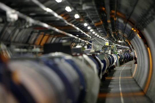Designed and constructed over two decades and launched with much publicity just 11 days ago, the Large Hadron Collider near Geneva has been shut down over a large helium leak.