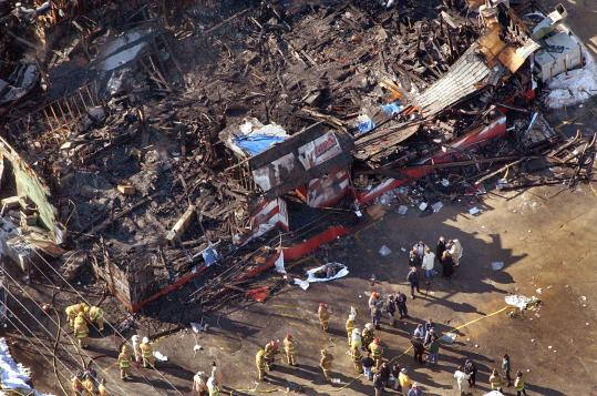 The Station nightclub fire in West Warwick, R.I., killed 100 people and injured about 200 others. It was the nation's fourth-deadliest nightclub fire.