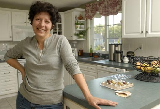 ''You can have whatever you like as long as you have small portions,'' said Liliana Staiculescu, 48, an accountant from Plainville, speaking about her philosophy on eating healthily, but not dieting.