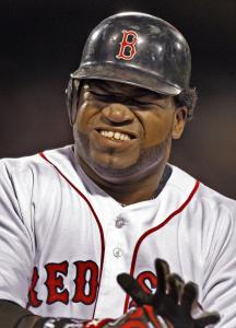 His fielder's choice with two men on in the seventh doesn't seem to really do it for David Ortiz.