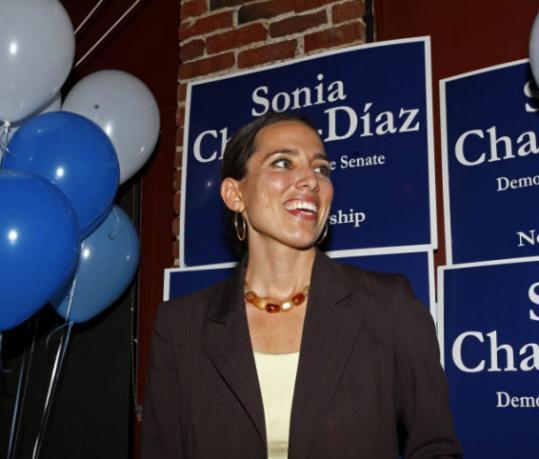 Sonia Chang-Diaz is seeking a recount in a Jamaica Plain ward.