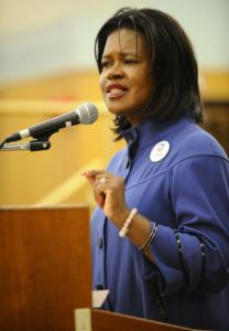 'This is not a process for the faint of heart, but I'm ready if you're ready.' Dianne Wilkerson , on trying to retain her seat